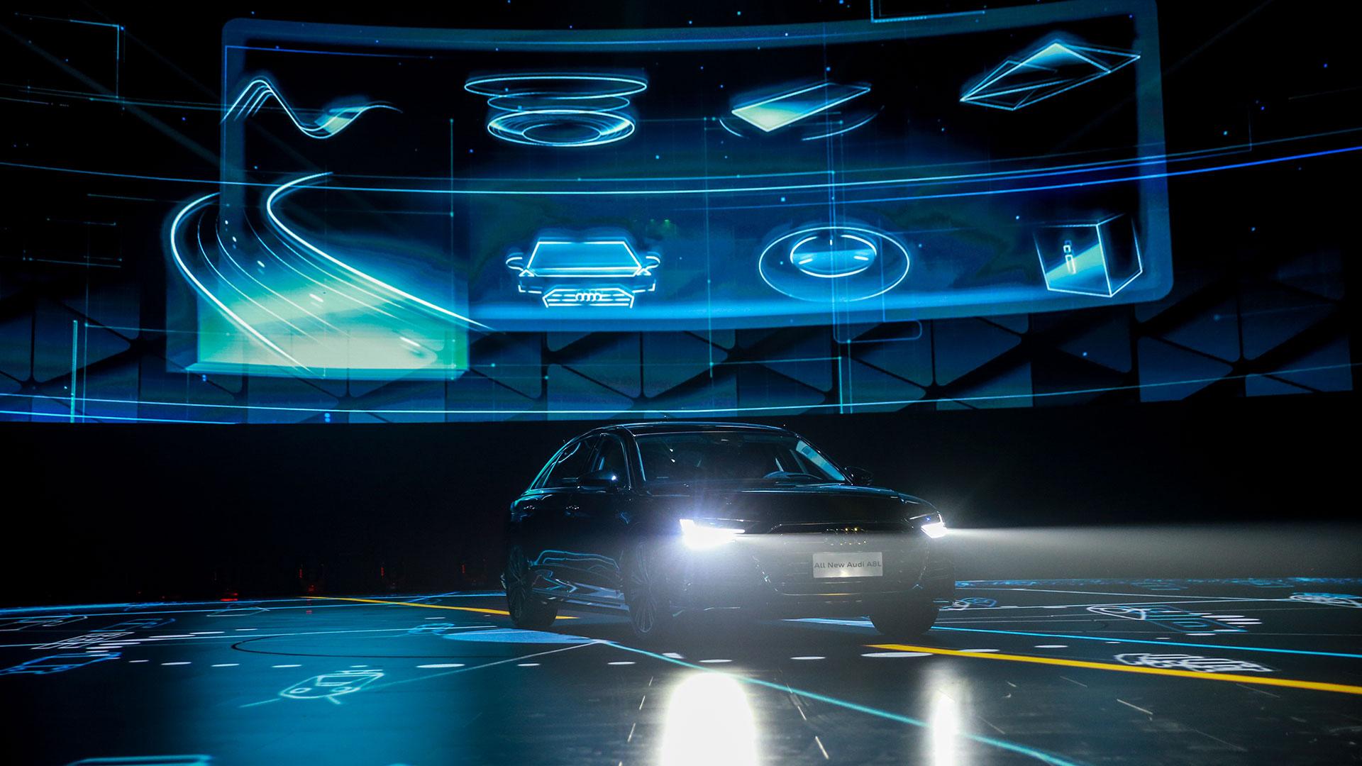 Audi A8L Launch
