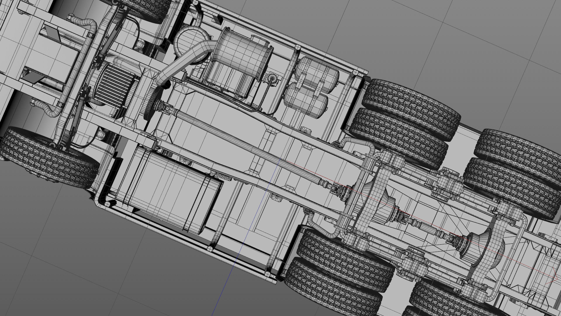 Projects_CharityWater_process_Drilling_Rig_model_03_C4Dviewport